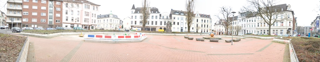 Schillerplatz am 3. März 2012