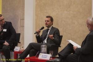 Diskussion Bundesgesundheitminister Egon Bahr