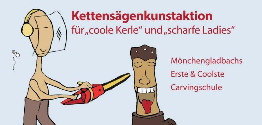 Die interessengemeinschaft friedrichstraße zeigt carving