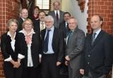 Verwaltungsvorstand der Stadt Mönchengladbach und Präsidium der Hochschule Niederrhein tauschen sich aus. (Foto: Hochschule Niederrhein)