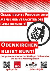 Flyer Odenkirchen bleibt bunt