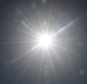 Sonne, Hitze