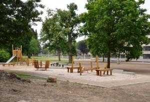 neuer Spielplatz im Park