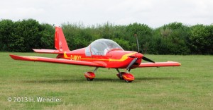 UL-Flugzeug