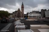 Marktplatz Rheydt - Start der Pflasterarbeiten 18.10.2013-0023