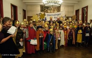 Sternsinger besuchen den Oberbürgermeister 15.1.2014 (3 von 3)