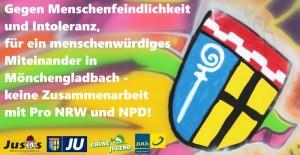 Protest gegen Pro NRW und NPD