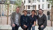 """Vier der fast 250 Mitglieder, """"Macher"""" der Initiative: v.l.: Arne Dorado, Katja Thiele, Monika Hintsches und Bernhard Jansen"""