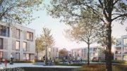 geplanter Neubau auf dem Grundstück der ehemaligen Hauptschule Regentenstraße