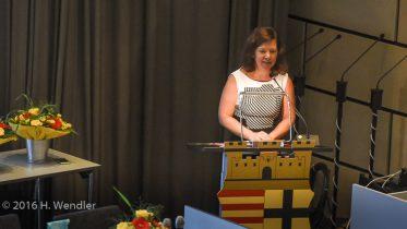 Bezirksvorsteherin Barbara Gersmann (SPD)