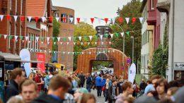 Street Food Fest der Hochschule Niederrhein auf dem Campus Mšnchengladbach